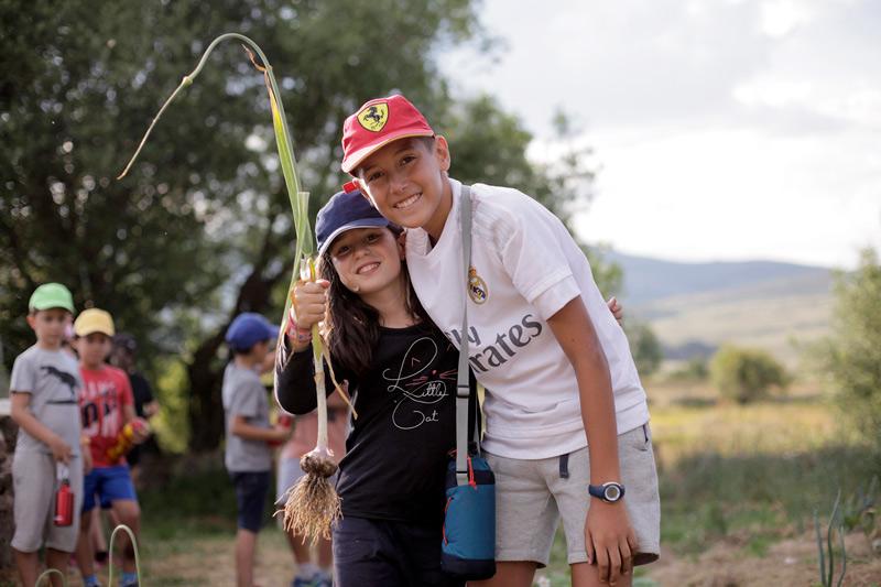 Campamento de inglés en Gredos