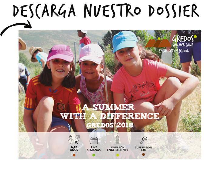 Campamento ingles en Ávila