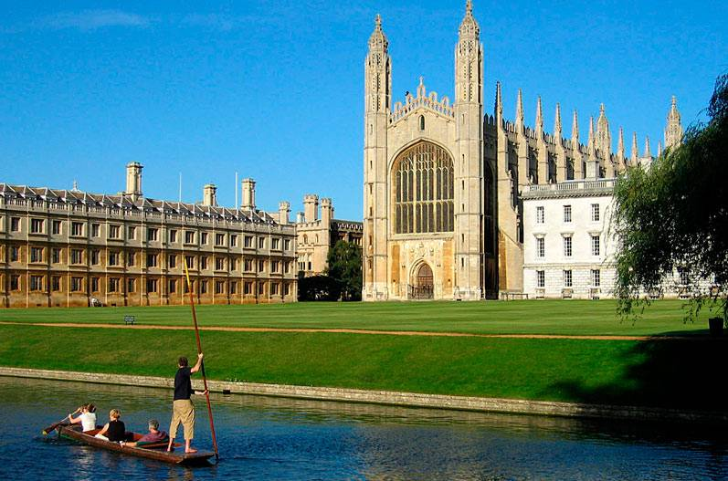 Cursos de Inglés en Cambridge