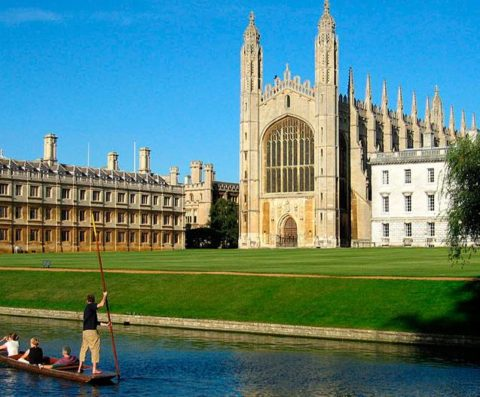 Cursos de Inglés en Cambridge