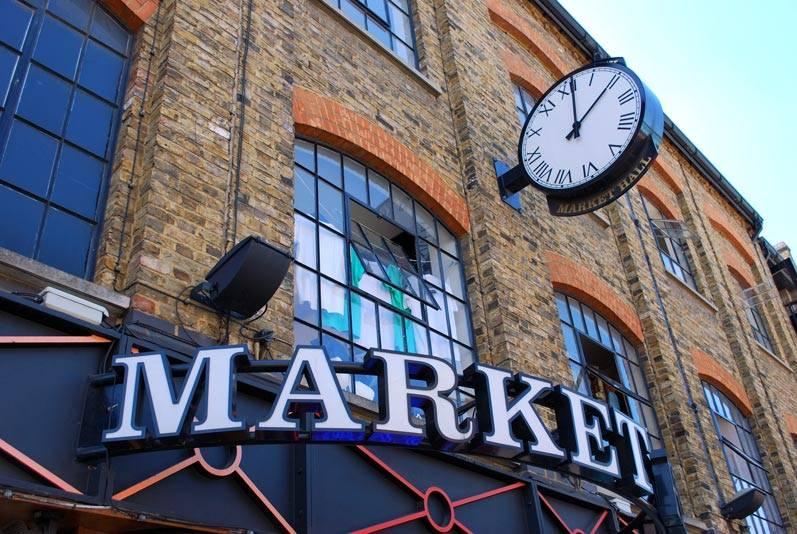 Inglés en Londres - Camden Town