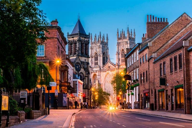 Estudiar inglés en York