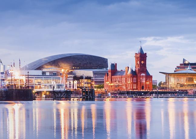 Curso de inglés en Cardiff