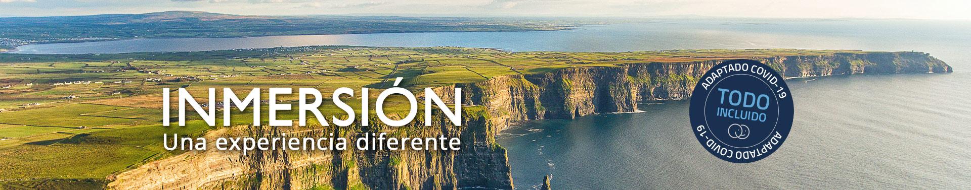 Inmersión en Irlanda