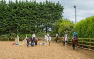 Inglés y caballos en Dublín