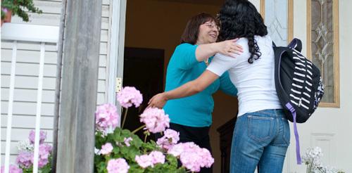 alojamiento en familias en Vancouver Canada ingles fuera Midleton School