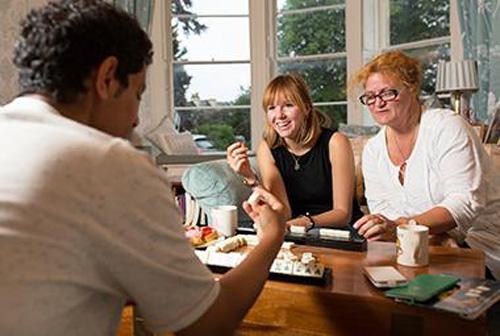 alojamiento en familias en Bath Inglaterra Midletoon School
