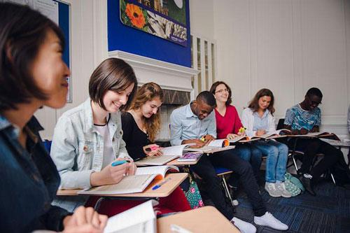 aprender ingles en Bath Inglaterra Midleton School