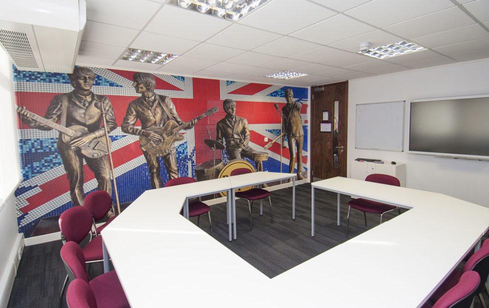 estudiar inglés en Liverpool Inglaterra Midleton school