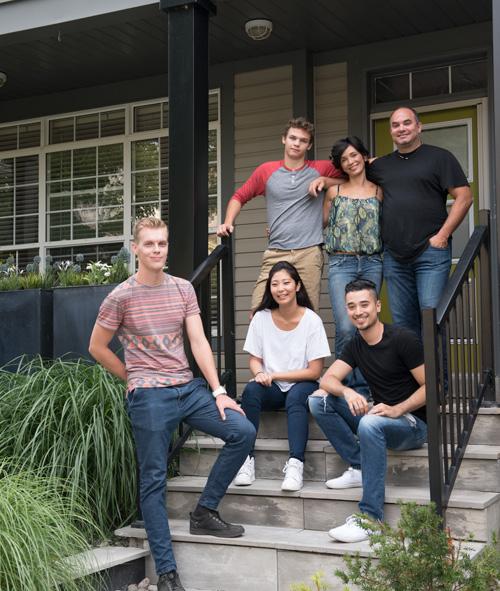 alojamiento en familias anfitrionas en Toronto Canada Midleton School
